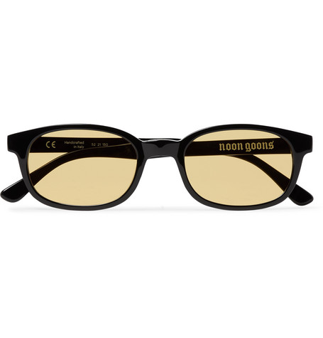 Noon Goons Unibase Square-Frame Acetate Sunglasses