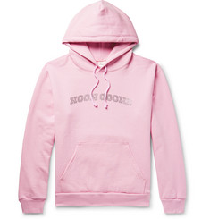 Noon Goons Logo-Embellished Fleece-Back Cotton-Jersey Hoodie