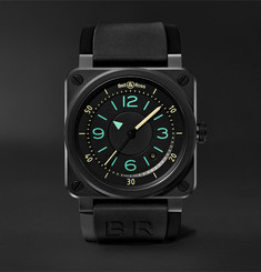 Bell & Ross BR03-92 Automatic 42mm Ceramic and Rubber Watch