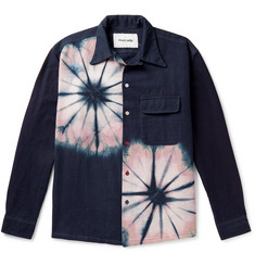 Story Mfg. Snack Tie-Dyed Organic Cotton Shirt