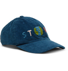 Story Mfg. Logo-Embroidered Organic Cotton-Corduroy Baseball Cap