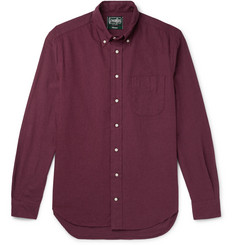 Gitman Vintage Button-Down Collar Brushed Cotton-Flannel Shirt