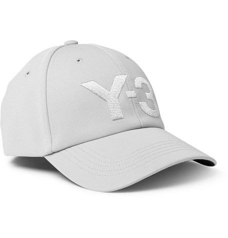 Y-3 Accessories LOGO-EMBROIDERED CANVAS BASEBALL CAP