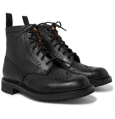 Church's Mac Farlane 2 Pebble-Grain Brogue Boots