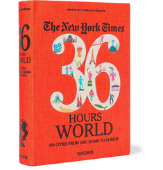 Taschen - The New York Times, 36 Hours: World, 150 Cities from Abu Dhabi to Zurich Flexicloth Book
