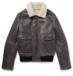 Yves Salomon Shearling Bomber Jacket
