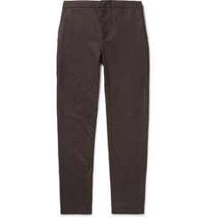 De Bonne Facture Tapered Wool-Flannel Drawstring Trousers