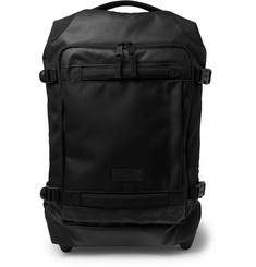 Eastpak Tranverz Small 51cm Leather-Trimmed Canvas Carry-On Suitcase