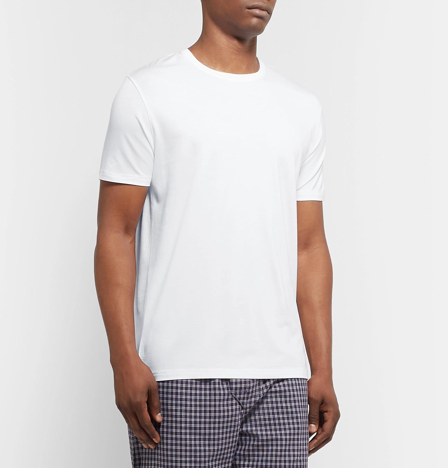25967c6f5a84 Derek Rose - Basel Stretch-Micro Modal Jersey T-Shirt