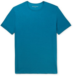 Basel Stretch-micro Modal Jersey T-shirt - Blue
