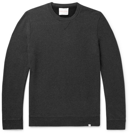 Derek Rose Devon Brushed Loopback Cotton-Jersey Sweatshirt
