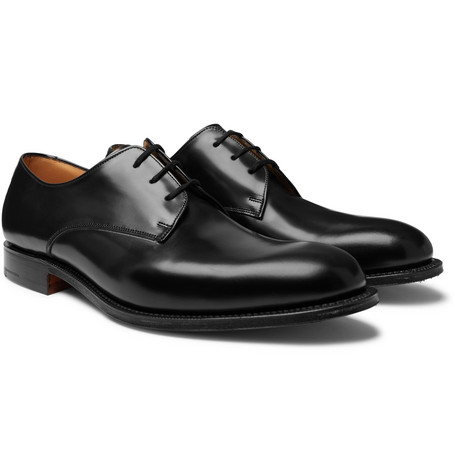 Church's Oslo Polished-Leather Derby Shoes