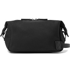 Saturdays NYC Chaz Leather-Trimmed Wash Bag