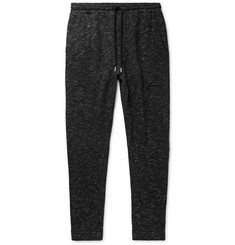 Alex Mill Slim-Fit Tapered Mélange Loopback Cotton-Jersey Sweatpants
