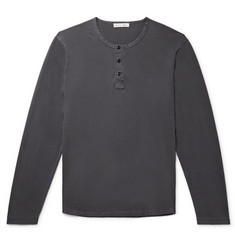 Alex Mill Cotton-Jersey Henley T-Shirt