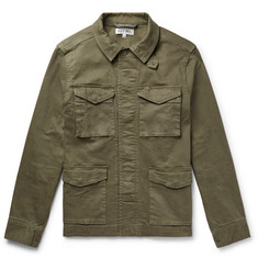 Alex Mill Herringbone Cotton-Blend Jacket