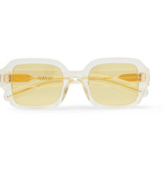 Tishkoff Square-frame Acetate Sunglasses - Yellow