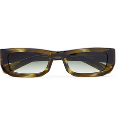 FLATLIST Bricktop Rectangle-Frame Acetate Sunglasses