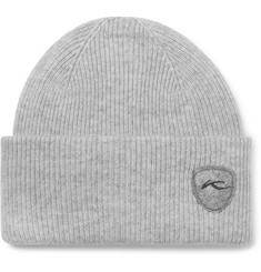 Kjus Logo-Appliquéd Wool, Yak and Cashmere-Blend Beanie