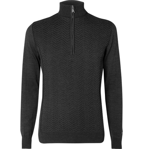 Linard Wool Blend Half Zip Sweater by Kjus