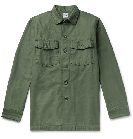 OrSlow Cotton Overshirt