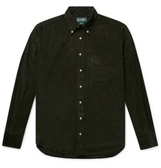 Gitman Vintage Button-Down Collar Cotton-Corduroy Shirt