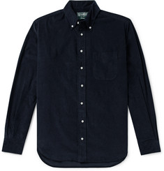 Gitman Vintage Button-Down Collar Cotton Corduroy Shirt