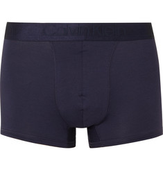 Calvin Klein Underwear Stretch-Modal and Cotton-Blend Boxer Briefs
