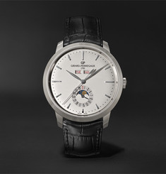 Girard-Perregaux 1966 Full Calendar Automatic 40mm Stainless Steel and Alligator Watch