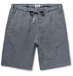 Hartford Slim-Fit Linen Drawstring Shorts