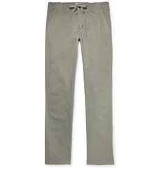 Hartford - Troy Slim-Fit Cotton Drawstring Trousers