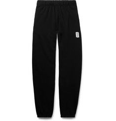 Les Girls Les Boys Tapered Loopback Stretch-Cotton Jersey Sweatpants