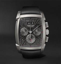 Parmigiani Fleurier - Kalpagraphe Limited Edition Chronograph 48mm Titanium and Rubber Watch