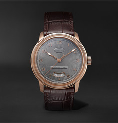 Parmigiani Fleurier - Toric Automatic Chronometer 40.8mm 18-Karat Red Gold and Alligator Watch