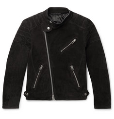 TOM FORD Slim-Fit Suede Biker Jacket