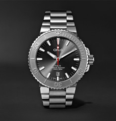 Oris Aquis Date Relief Automatic 43.5mm Stainless Steel Watch