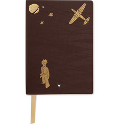 Montblanc - #146 Le Petit Prince Leather Notebook