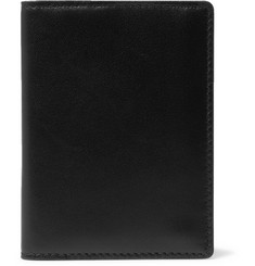 Common Projects Logo-Print Leather Billfold Wallet