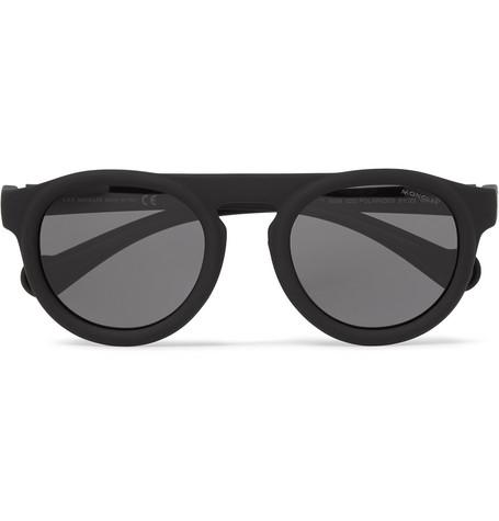 Moncler – Round-frame Acetate Polarised Sunglasses – Black