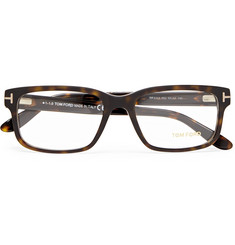 TOM FORD - Square-Frame Tortoiseshell Acetate Optical Glasses