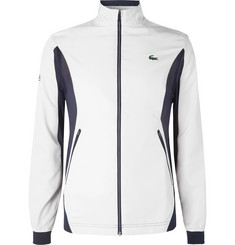 Lacoste Tennis + Novak Djokovic Slim-Fit Mesh-Panelled Ripstop Track Jacket