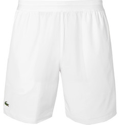 Lacoste Tennis + Novak Djokovic Piped Stretch-Shell Tennis Shorts