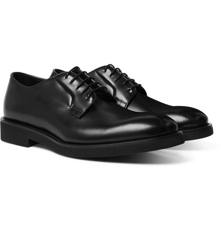 Paul Smith Shoes LUDLOW POLISHED-LEATHER DERBY SHOES
