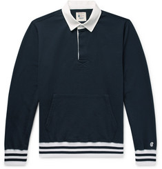 Todd Snyder + Champion Loopback Cotton-Jersey Rugby Shirt