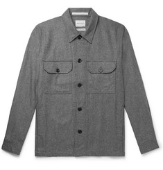 Norse Projects Kyle Mélange Wool-Blend Overshirt