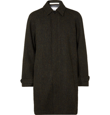 Norse Projects Svalbard GORE-TEX-Lined Mélange Wool-Tweed Coat