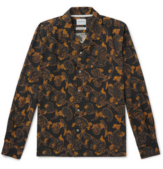 Norse Projects Carsten Camp-Collar Paisley-Print Cotton Shirt