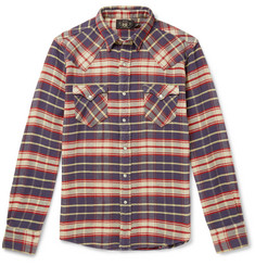 RRL Checked Cotton-Flannel Shirt