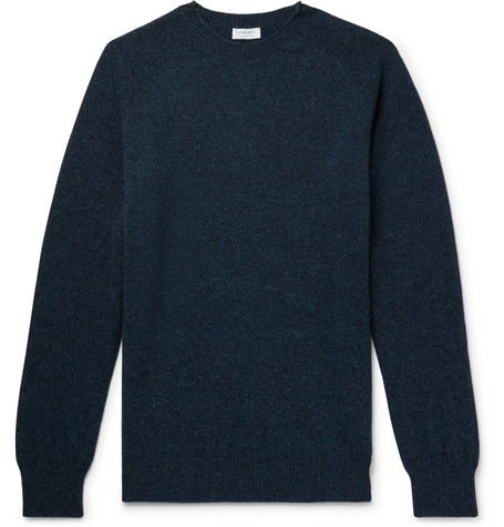 Sunspel Mélange Wool Sweater