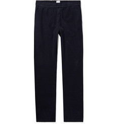 Sunspel Navy Cotton-Corduroy Trousers